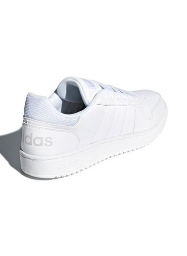 adidas adidas DB1085 Hoops 2.0 Erkek Lifestyle Ayakkabı Gümüş